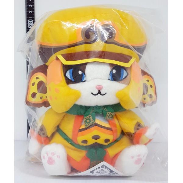 【日本正版】 MONSTER HUNTER 魔物獵人 Airou 艾露貓 KECHA 一番賞 E賞 玩偶 絨毛 娃娃
