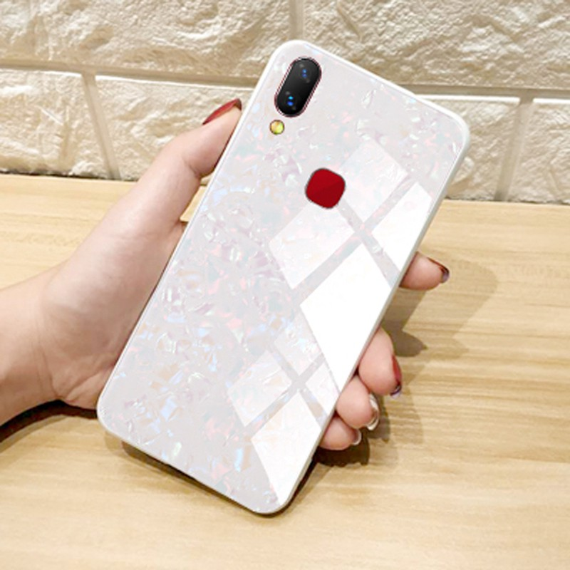 VIVO Y66 Y67 Y71 Y75 Y79 Y83 Y85 X23 V7 Plus V9 Nex Ultimate Conch Shell Case