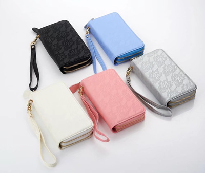 OPPO R11S/R11S Plus、R11/R11 Plus、R9S/R9S Plus、R9/R9 Plus Universal Lace wallet Leather Case Cover