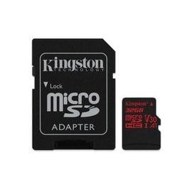 金士頓 記憶卡 【SDCR/32GB】 MICRO-SD HC 小卡 C10 UHS-I U3 32G 新風尚潮流