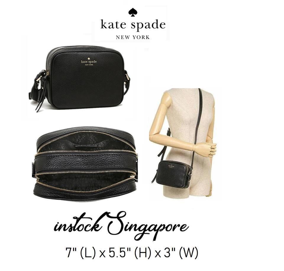 Kate Spade Mulberry Street Pyper Pebbled Leather Crossbody Shoulder Bag