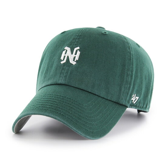 47Brand蓋子Nankai Hawks小標識47年CLEAN UP深綠色 YAKYUKINGDOM