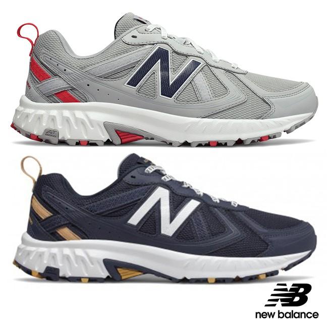 【New Balance】運動輕量越野跑鞋 MT410MT5-2E /MT410RC5 中性 丈青、淺灰