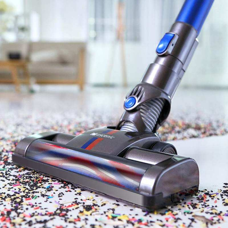 Original Proscenic P8 2 in 1 Wireless Smart Handheld Vacuum Cleaner 1.0 L Dust Bin Capacity for Family and Car Cleaning With Replaced Battery