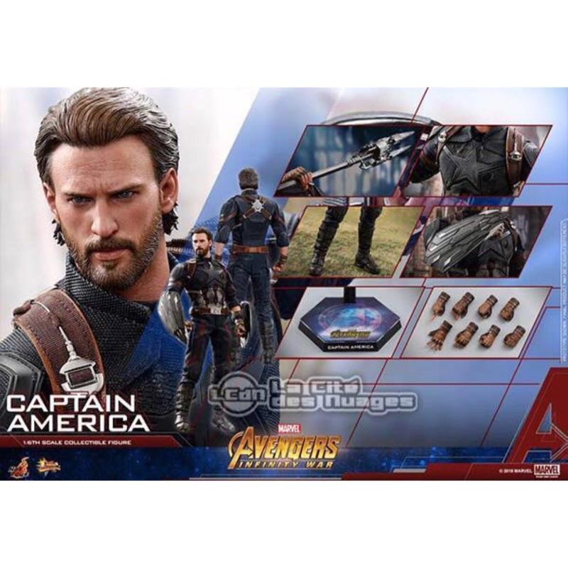 全新 Hot toys mms480 美國隊長 復仇者聯盟 無限之戰 野獸國 非 鋼鐵人 奇異博士 雷神索爾 蜘蛛人