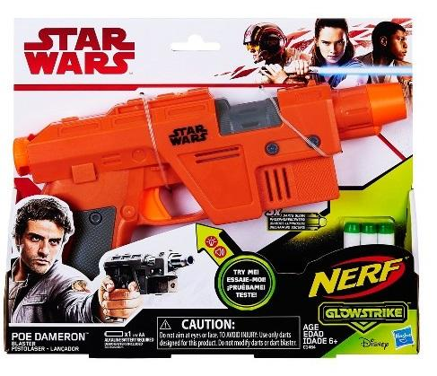 Nerf gun Star wars poe dameron with light and sounds blaster