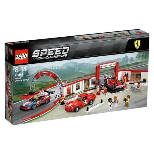 LEGO 樂高 Speed Champions Ferrari Ultimate Garage 75889 (841 Piece), Multi