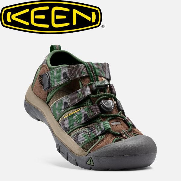 [現貨]KEEN 美國 兒童 護趾涼鞋《咖啡/迷彩》/水陸兩用鞋/休閒涼鞋/兒童涼鞋/1016595