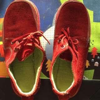soleRebels 雙重麂皮輪胎鞋