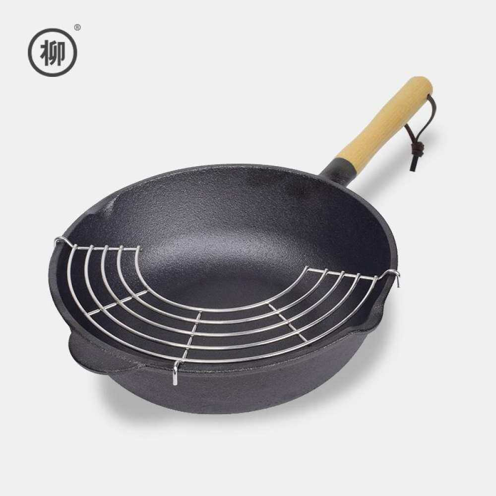 Willow of cast-iron wok small