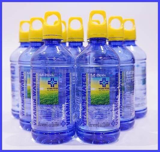 น้ำดื่มยันฮี วิตามินวอเตอร์ น้ำดื่มวิตามิน น้ำดื่มผสมวิตามิน น้ำยันฮี Yanhee Vitamin Water น้ำดื่มวิตามินเพื่อสุขภาพ น้ำวิตามิน วอเตอร์ /ผสานด้วยคุณค่าจากวิตามินนานาชนิด ไม่มีการแต่งสีและกลิ่นไม่เติมสารกันเสีย ได้ประโยชน์เต็มที่ (แพ็คละ 12 ขวด)