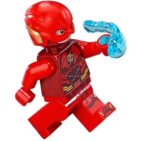 土城 公主樂糕殿 LEGO 樂高餐廳 76086 超級英雄 閃電俠 含武器 The Flash (B-020)