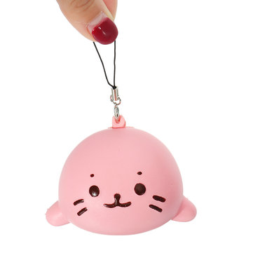 Squishy Seals Slow Rising 7cm Cute Soft Squishy With Chain Kid Toy