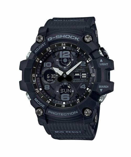 Casio G-Shock Mudmaster GSG-100-1A Series with Tough Solar
