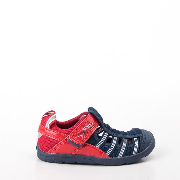 IFME  兒童運動機能涼鞋-藍紅 IF30-902211  現貨
