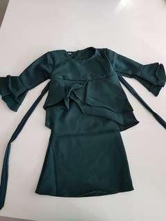 Baju Kurung Peplum Baby