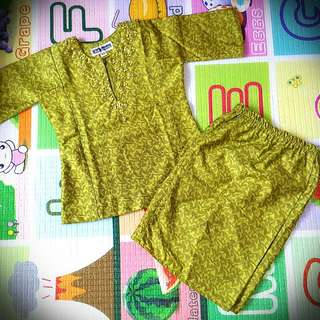 Baby Girl Baju Kurung