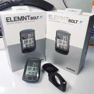 Wahoo elemnt bolt unit