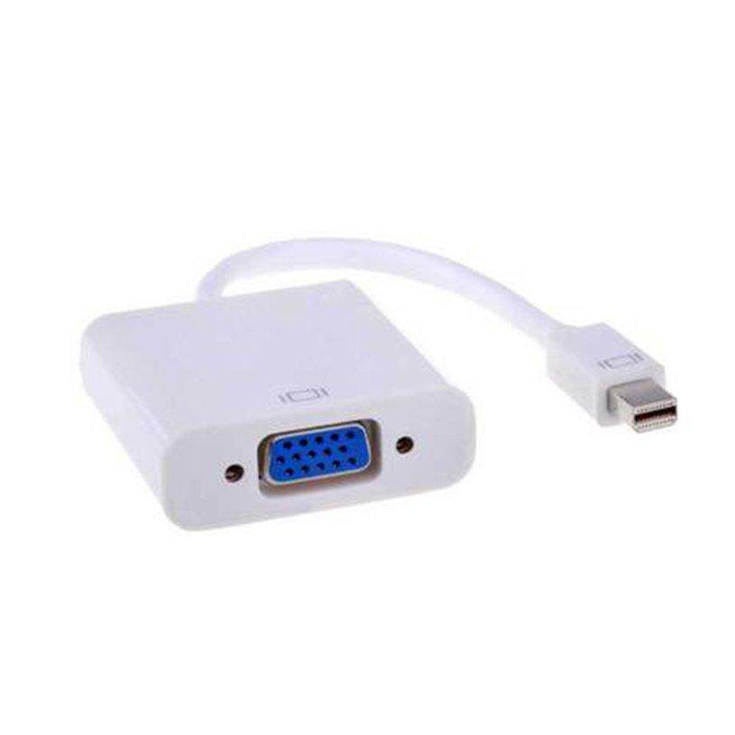 H-MENT Mini DisplayPort to VGA Mini DP Display Port to VGA Male to Female Adapter