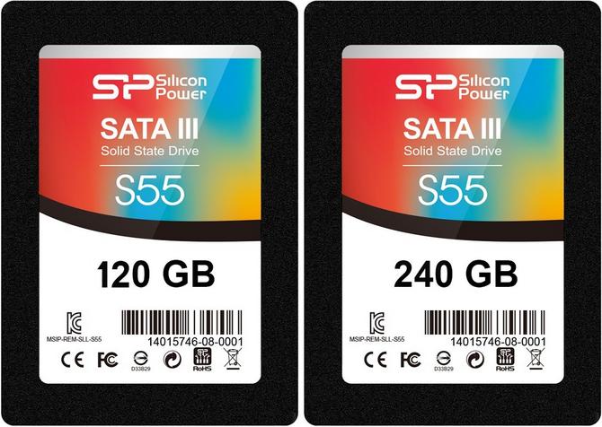 【SP廣穎】SATA III Slim S55 2.5吋 TLC SSD固態硬碟