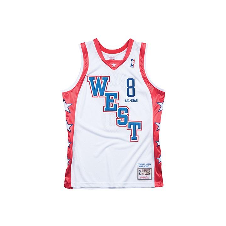 Mitchell & Ness / NBA 球員版球衣 KOBE 2004 ALL STAR WEST 白