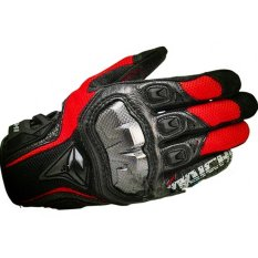 DualX RS Taichi RST391 Mens Perforated leather Motorcycle Mesh Gloves- M size - intl(...)