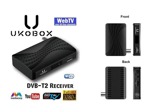 UKOBOX DVB-T2 Receiver DT2 Mini-M1 ( Box only )