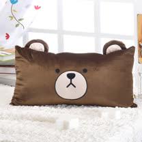 思美爾 台灣製湯姆熊方中型枕45公分x30公分