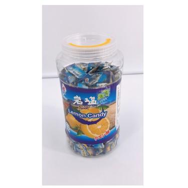 薄荷岩鹽檸檬糖 桶裝 糖果 900克 好市多 BF