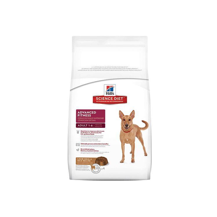 希爾思優質健康成犬羊+米(1-6歲)7.5KG