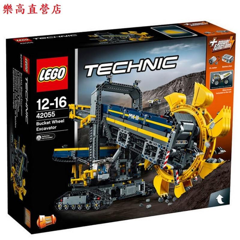 <樂高機器人林老師專賣店>LEGO 42055巨型輪型挖土機