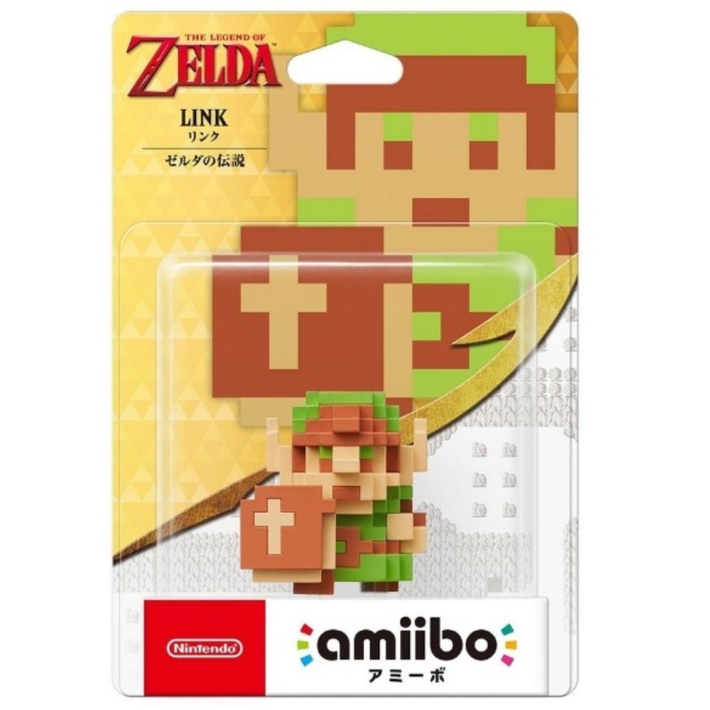 【勁多野】現貨供應 WiiU 3DS Amiibo 薩爾達傳說系列 林克 點陣林克