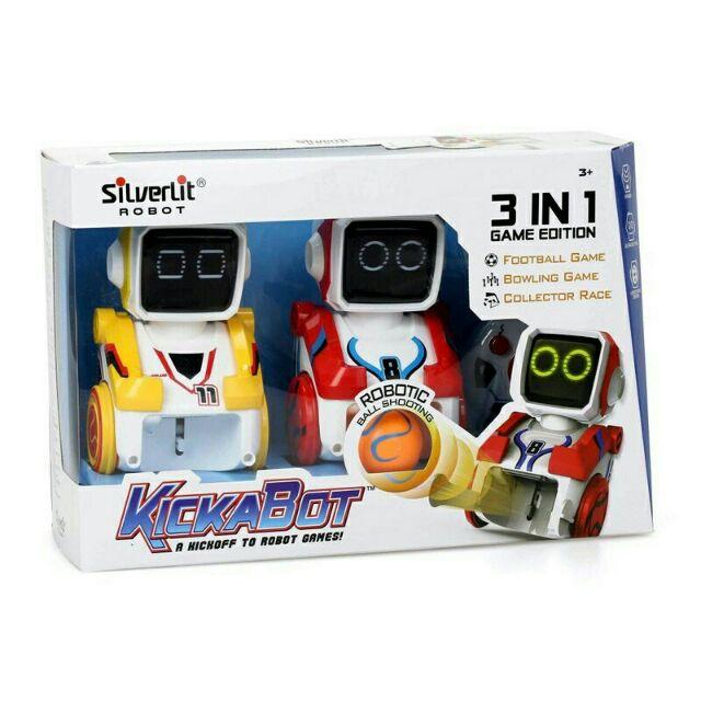 (阿谷小舖) Silverlit 方程式踢球機器人 雙人組