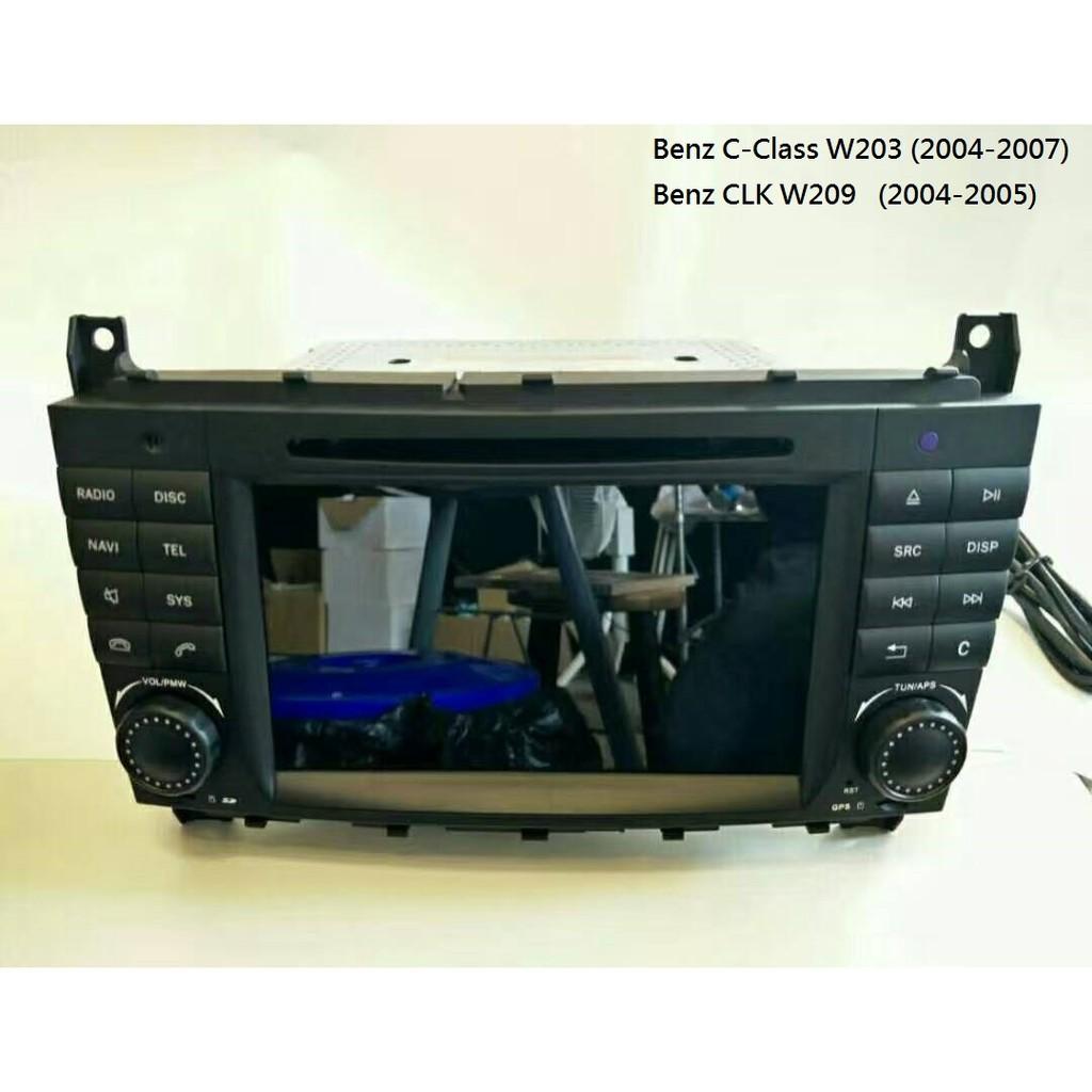 賓士BENZ W203 W209 安卓音響主機 導航 數位 藍芽 安卓 7吋