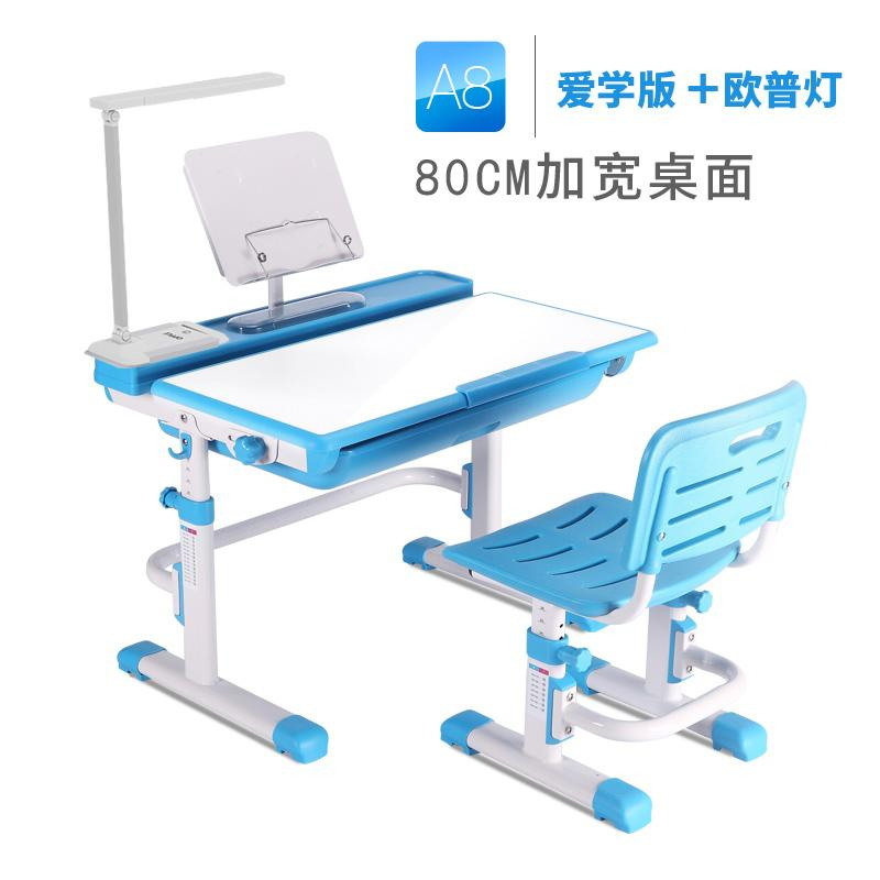 Children's Study Desk Doing Homework Table And Chair Set Combination Study Table Desks And Chairs Baby Household Can Lift Children's Desk