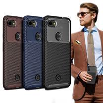 爵士焦點 Google Pixel 3a 碳纖維防指紋軟式手機殼