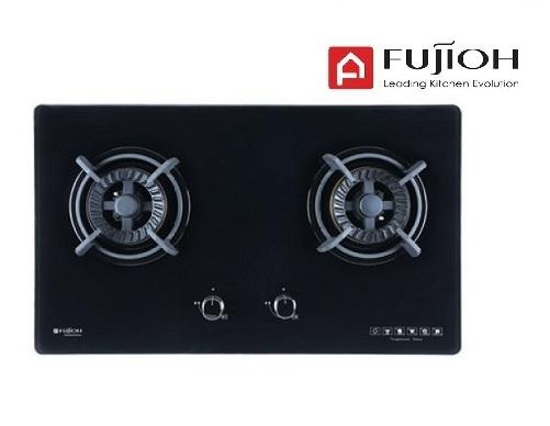 FUJIOH FH-GS5520 SVGL 2 BURNER GLASS HOB WITH SAFETY DEVICE