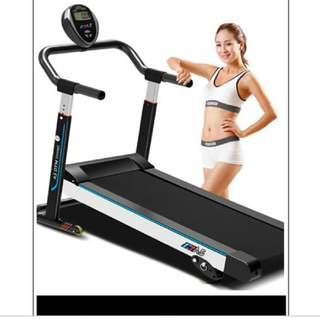 Foldable Manual Treadmill