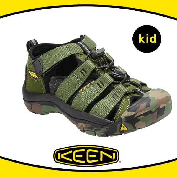 [現貨]KEEN 美國 兒童 護趾涼鞋〈橄欖綠/迷彩〉/護趾涼鞋/水陸兩用鞋/涼鞋/休閒涼鞋/1014259