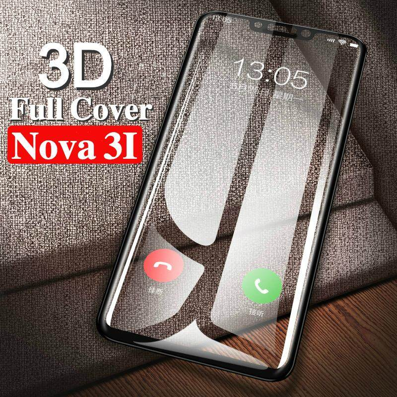 (2pcs) for Huawei Nova 3i Tempered Glass Screen Protector Film for Huawei Nova 3i Glass 3D Full Screen Cover Film
