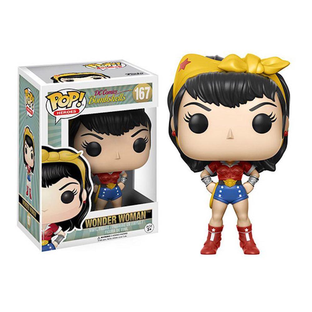 Funko POP!系列 Q版 DC Comics Bombshells系列 神力女超人