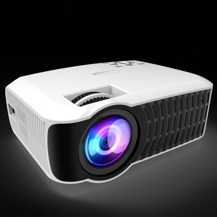 Andrews 4.4 Smart Push Projector Mini Projector Projector HD 1080P Home 4K Projector (White) - intl
