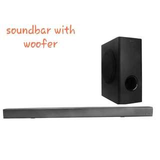 Nakamichi SS6W Soundbar With Subwoofer