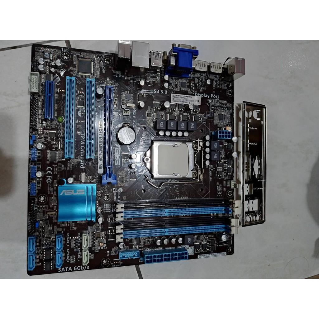 華碩 1155主機板 ASUS P8Q77-M / BM6675 / DP_MB 支援二代三代cpu intel Q77