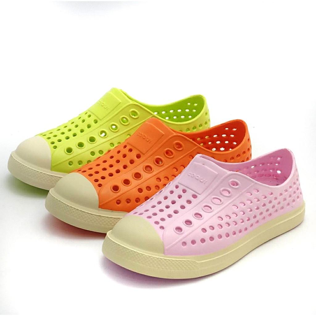 EVA洞洞鞋防水涼鞋/兒童拖鞋/男童室內鞋/室外拖鞋15CM-19CM