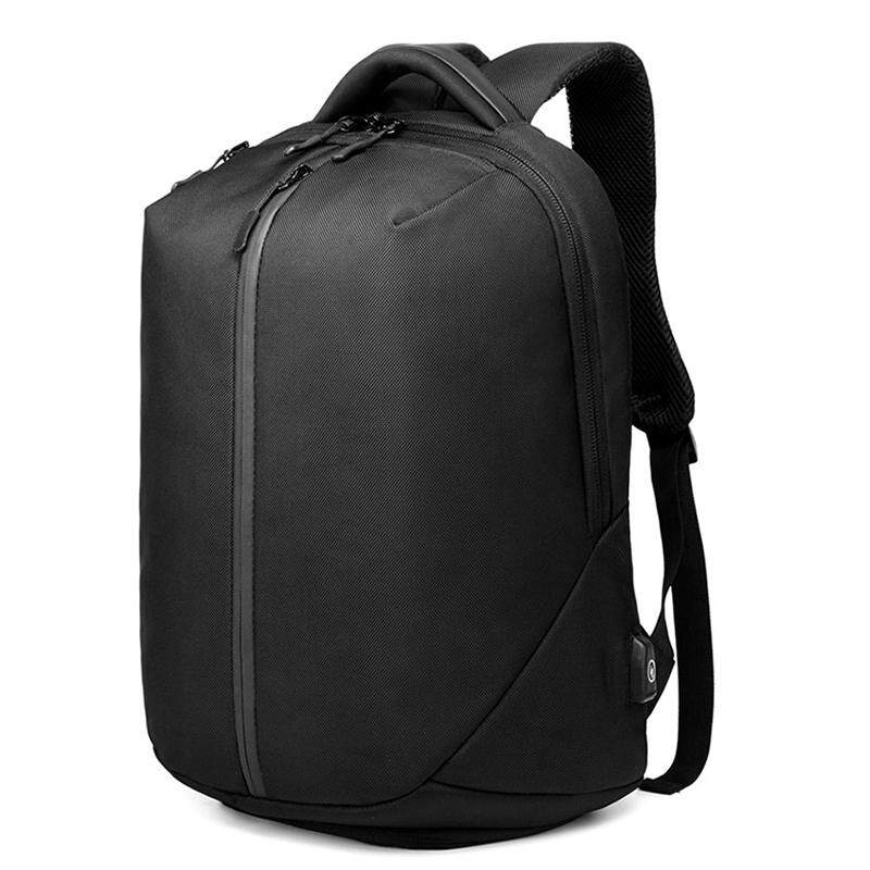 Ozuko Casual Men'S Backpack Student Waterproof Bag Anti-Theft Password Lock Backpack
