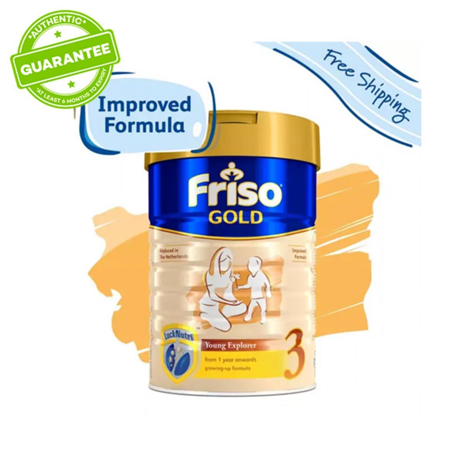 Friso Gold 3 Growing Up Milk 1.8kg x 2 tins
