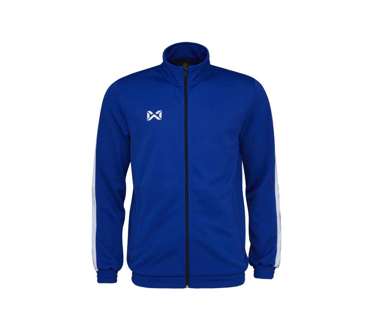 เสื้อวอร์ม วอริกซ์ สีน้ำเงิน-ขาว WA-1718-BW