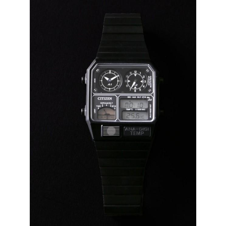 {XENO} แบรนด์ CITIZEN ANA-DIGI Ver.3 ที่แท้จริงแท้ๆดูนาฬิกาข้อมือของผู้ชาย