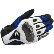 DualX RS Taichi RST391 Mens Perforated leather Motorcycle Mesh Gloves- XL size - intl(...)